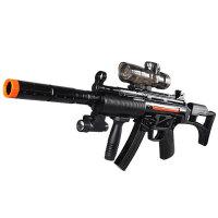 宜佳达 玩具枪 可充电 可发射水晶弹子弹 连发软弹 电动狙击枪玩具 火线战役304