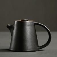 陶瓷泡茶壶 日式干泡壶窑变家用大号功夫茶具 手工复古风茶壶