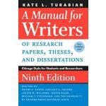 【预订】A Manual for Writers of Research Papers, Theses, and Di