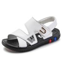 2019夏季新款韩版男童凉鞋潮儿童沙滩鞋中大童男孩凉鞋软底鞋