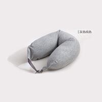 无印U型枕记忆棉护颈椎靠枕飞机枕旅行枕午休趴睡颗粒枕头良品L05定制