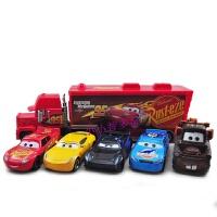 正版 赛车汽车总动员合金玩具车模型闪电麦昆 麦大叔组合套装