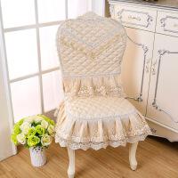 加大款餐椅套椅子套家用欧式棉麻圆形靠背椅子套罩靠背套四季通用