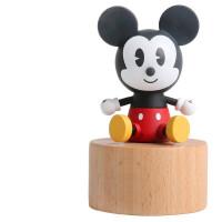 爱莎公主冰雪奇缘旋转八音盒diy音乐盒3D拼图女生手工玩具男孩儿童宝宝玩具