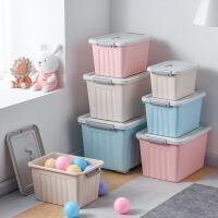 加厚收纳箱塑料特大号衣服收纳盒整理箱家用衣物储物箱车载后备箱