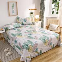 伊迪梦 全棉单品床单简约时尚床上用品 全活性印染高支高密纯棉面料 单双人大小床型qx522
