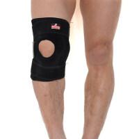 篮球护膝足球户外登山护膝运动护膝 弹簧加压支撑型