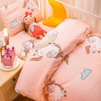 幼儿园被子三件套宝宝午睡专用夏天六件套纯棉儿童被褥入园床品