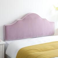 定制床头靠垫软包实木床无床头靠背垫榻榻米酒店布艺儿童款可拆洗定制
