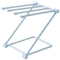 立式毛巾架 折叠立式抹布厨房毛巾挂架免打孔台面收纳架水杯置物架B