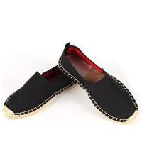 时尚休闲帆布麻绳草编布鞋学生鞋男女同款禅意居士鞋禅修僧鞋