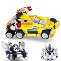 星钻积木 赛尔号战神联盟塑料拼装积木拼插 儿童益智玩具 雷伊VS海盗迪恩80230