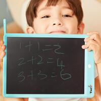 儿童手绘板绘特美画板儿童智能涂鸦液晶手写板10英寸可擦写 天蓝色