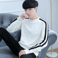 秋季修身线衣男士针织打底衫韩版秋衣上衣服小衫长袖T恤卫衣男装