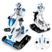 星辉未来战士太空2号战警遥控机器人USB充电儿童智能跳舞男孩玩具 宇宙黑 官方标配【一键演示,激情互动+2.4G频率+