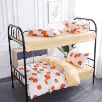 纯棉三件套床上用品学生宿舍单人上下铺被套床单全棉女生被罩被单