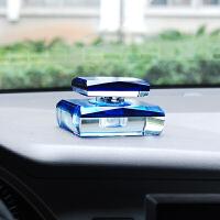 汽车内小车车用车载摆件车座香水座坐式空瓶盒专用放在车上的车里