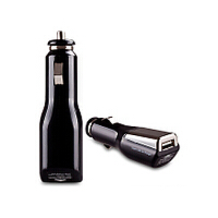 MOMAX 手机USB车载充电器 三星htc苹果iphone*车充 点烟器