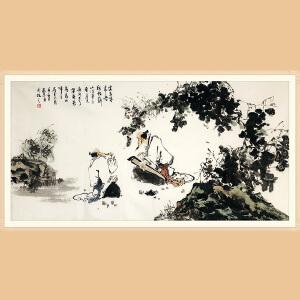 当代著名画家 徐家昌(人物) ZH357
