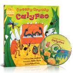 顺丰发货 Creepy Crawly Calypso(附CD)廖彩杏推荐韵文与歌谣 建立快乐记忆 英文原版绘本 大开本