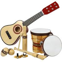 儿童生日礼物宝宝吉他玩具益智女孩男孩子1-3-6周岁男童乐器套装