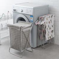 脏衣服收纳筐折叠装衣物篮子神器洗衣框玩具桶北欧衣篓脏衣篮家用