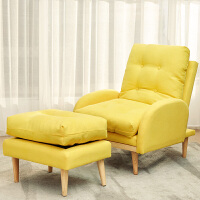 懒人沙发卧室单人小沙发阳台休闲椅小户型房间创意折叠躺椅贵妃椅