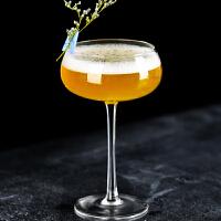 扩口香槟杯古典鸡尾酒杯女士预调酒杯 创意鸡尾酒杯 高脚马天尼杯