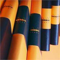 法国罗地亚Rhodia ePure 仿皮 软面 空白 笔记本 随笔