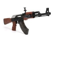 下供弹AK47电动连发手动软弹枪水蛋水晶弹男孩儿童玩具枪男孩子六一儿童节礼物 +电池 (共2电池)