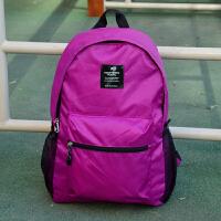户外旅游超轻超薄可折叠皮肤包便携防水双肩背包男女学生书包旅行