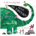 【预订】Hello,Mr Dinosaur!?你好!恐龙先生 儿童趣味翻翻书 3-6岁