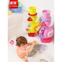 婴儿宝宝洗澡玩具喷水玩水花洒儿童戏水玩具女男孩会游泳的小乌龟