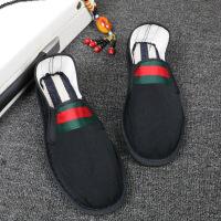 冬季加绒老北京布鞋社会鞋精神小伙鞋子快手红人刺绣