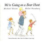 We're Going on a Bear Hunt 我们要去捉狗熊(美国版,大开本平装书)ISBN 97806898
