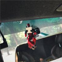 PMCREW汽车车内摆件饰品潮流装饰玩偶死侍公仔小玩具创意模型木偶