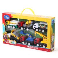儿童工程车玩具套装组合3-6岁男孩宝宝惯性挖掘机吊车模型 工程车礼盒套装