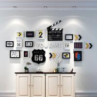 照片墙装饰欧式相框墙现代简约创意个性背景墙客厅卧室组合相片墙