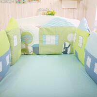 婴儿床品ins宝宝床围床上用品床品春夏秋冬儿童婴儿床围防撞床帏包ZQ-YS011 一组半围,包括12345号 一组床围