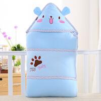 儿抱被冬季婴儿包被秋冬款加厚款宝宝抱毯可脱胆幼儿包巾