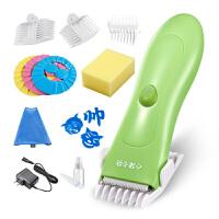 W 婴儿理发器儿童静音电推剪小孩防水充电宝宝陶瓷剃头刀 X5+理发套装j12