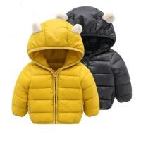 新款儿童羽绒棉衣男女宝宝秋冬季童装婴幼儿轻薄小童棉袄连帽