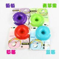 3M 思高 甜甜圈胶台 胶带切割座 内附赠隐形胶带 5色可选
