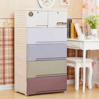 201907012320239532019新品新品加厚宝宝衣柜儿童衣柜塑料抽屉衣物整理收纳柜玩具储物柜