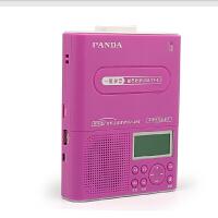 【赠8G卡+包邮】熊猫F-376磁带复读机随身听插USB TF卡复读U盘TF卡录音 充电锂电池
