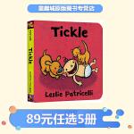 Tickle 英文原版 leslie patricelli 小毛孩系列 一根毛 幼儿行为习惯培养绘本