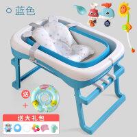 小孩子的游泳池大号宝宝新生儿童免充气游泳池桶小孩家用婴儿幼儿折叠洗澡桶加厚