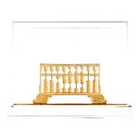 梦克拉 铸金摆件工艺品 如意算盘 可礼品卡购买