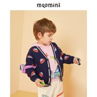 【折后券后预估价:112】MQD童装男小童2020秋季新款满版毛衣小孩子宝宝上衣针织衫洋气潮