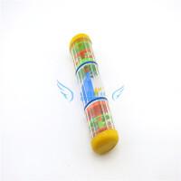 奥尔夫乐器 教具 奥尔夫打击乐器双节雨声筒 儿童音乐启蒙玩具 两节旋转雨声响音筒